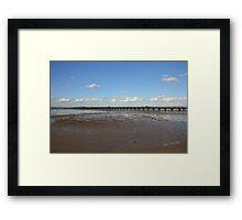 Ryde Pier Framed Print