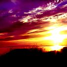 latern sunset by Erin Kroll