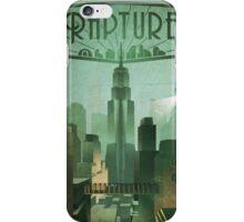 Bioshock Infinite: Rapture Poster iPhone Case/Skin