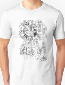 LINEart T-shirt: 100 <Inspiration from House.> Unisex T-Shirt