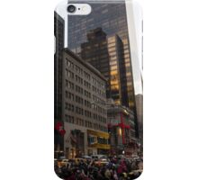 Christmas Shopping on Fifth Avenue, Manhattan, New York City iPhone Case/Skin