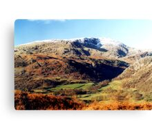 The Coniston Fells Canvas Print