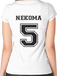 Haikyuu!! - Nekoma Kenma Kozume Women's Fitted Scoop T-Shirt