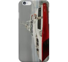 Red Jet 5 arriving at Cowes iPhone Case/Skin