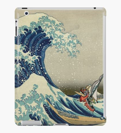 The Great Wave of Hyrule iPad Case/Skin