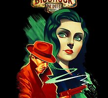 Bioshock Infinite: Burial At Sea Poster by mariafumada