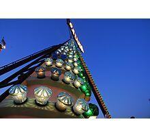 Carnival Ride Photographic Print