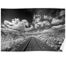 Railway Track Poster