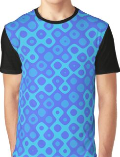 Brain Coral Blue Banded Inverted - Coral Reef Series 041 Graphic T-Shirt