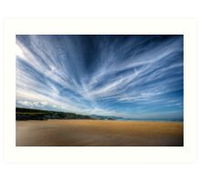 A Donegal Beach Art Print