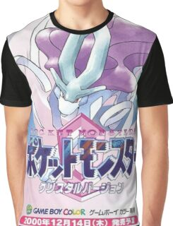 Pokemon Crystal Graphic T-Shirt