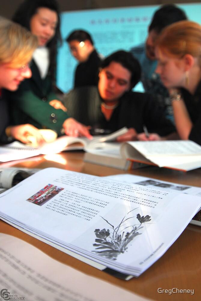 Studying Mandarin  by GregCheney