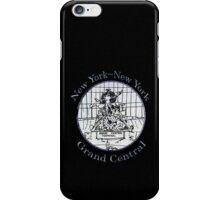 NYC-Mercury keeping time for Grand Central Terminal * iPhone Case/Skin