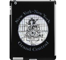 NYC-Mercury keeping time for Grand Central Terminal * iPad Case/Skin