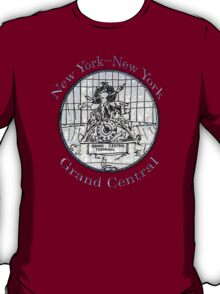 NYC-Mercury keeping time for Grand Central Terminal * T-Shirt
