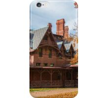 USA. Connecticut. Hartford. Mark Twain House & Museum. iPhone Case/Skin