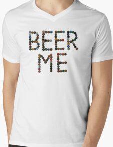 Beer Me Mens V-Neck T-Shirt