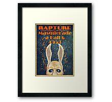 Bioshock: Rapture Masquerade ball 1959 Framed Print