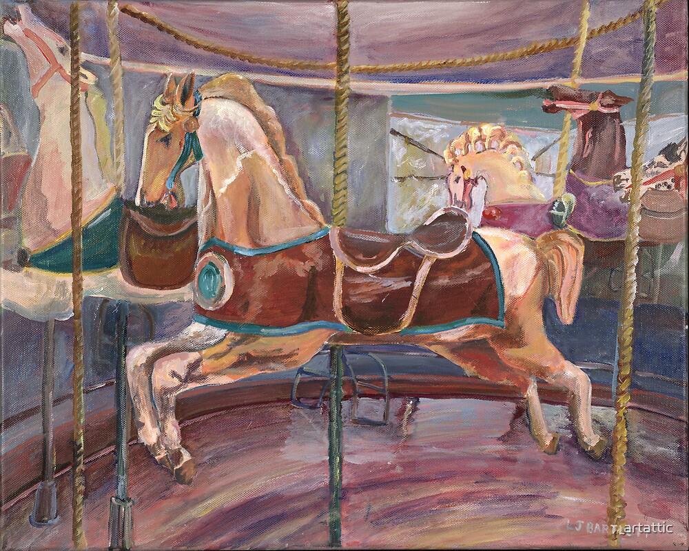Carousel Horse by artattic