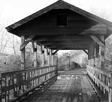 Black and White Bridge by Whitney LeBlanc