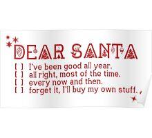 Dear Santa... Poster