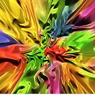 Explosion Of Colors by Miraart
