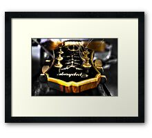 Gibson Epiphone Framed Print
