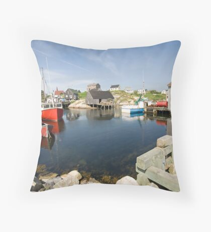 Peggys Cove Throw Pillow