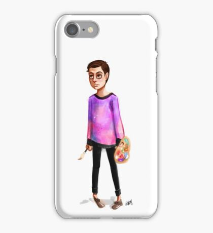 Hipster Jim Moriarty iPhone Case/Skin