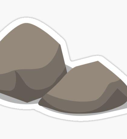 Glitch Groddle Land gravel 2 Sticker