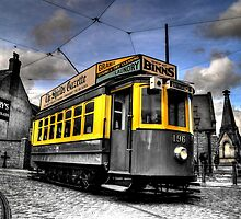Beamish Museum Oporto 196 Tram by Andrew Pounder