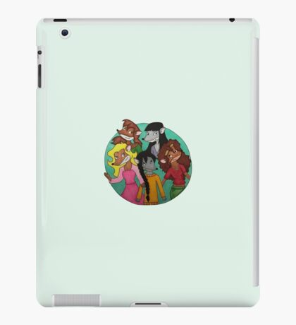 Thea Sisters iPad Case/Skin