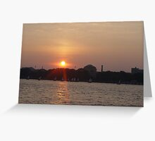Roaming The Charles River Greeting Card