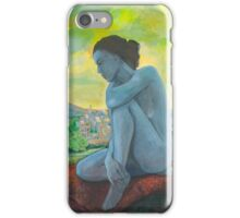 Anatomy of melancholia iPhone Case/Skin