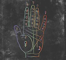 Palmistry by bittermoon