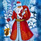 Merry Christmas with Love from Russia by Ldarro