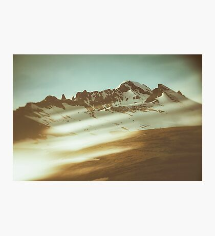 Into the mountains Photographic Print