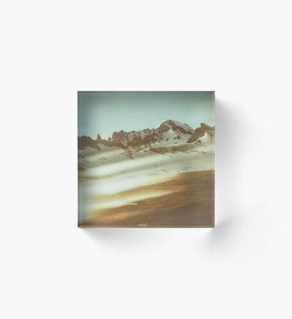 Into the mountains Acrylic Block