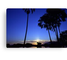 Sunrise in Paradise NT Canvas Print