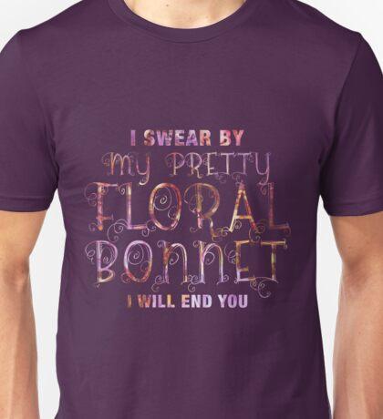 Firefly - I swear by my pretty floral bonnet Unisex T-Shirt