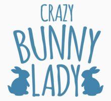 CRAZY Bunny lady by jazzydevil