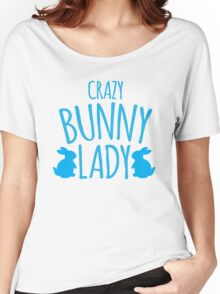 CRAZY Bunny lady Women's Relaxed Fit T-Shirt