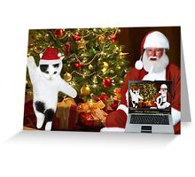 "✰˚ ˛★* ""SANTA IF THEY COULD ONLY SEE US NOW"" HO ho HO ✰˚ ˛★* Greeting Card"