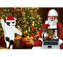 """✰˚ ˛★* """"SANTA IF THEY COULD ONLY SEE US NOW"""" HO ho HO ✰˚ ˛★* Photographic Print"""