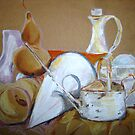 Still Life Mixed Media by Marilyn Brown