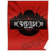 Bioshock: Rapture Records Poster
