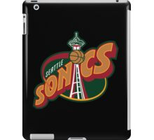 Seattle Supersonics iPad Case/Skin
