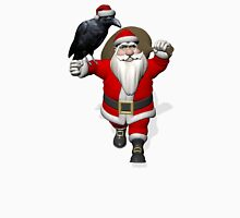 Santa Claus Loves Ravens Unisex T-Shirt