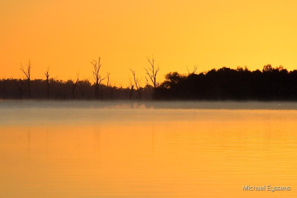 Lake Mulwala Sunrise by Michael Eyssens