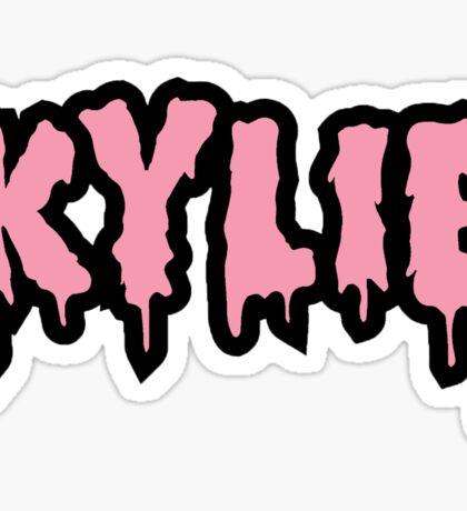Kylie Shop Sticker